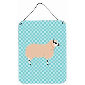 Les moutons Kerry Hill Blue cocher mur ou porte accrocher impressions