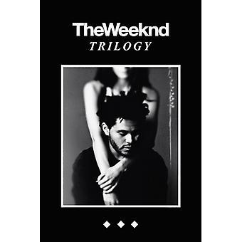 Weeknd Трилогия Плакат Плакат Печать