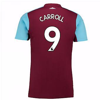 2017-18 West Ham Home Shirt (Carroll 9) - Kids