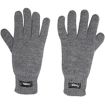 New Peter Storm Mens Thinsulate Knit Gloves Grey (en anglais)