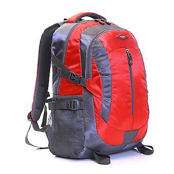 Karabar Stonehenge 25 Litre Hiking Backpack, Red/Grey