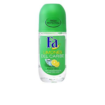 Fa Limones Del Caribe Deo roll-on 50 ml Unisex