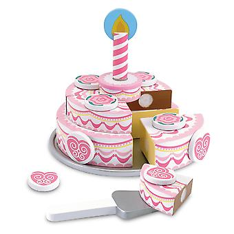 Melissa & Doug dreilagige Party Kuchen