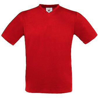 B&C Collection Exact Vneck T-Shirt