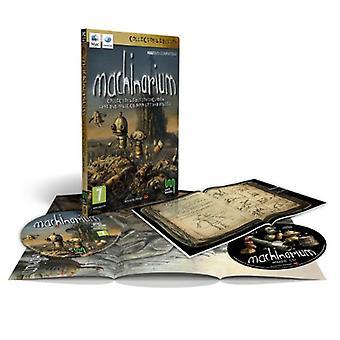 Machinarium (Mac)-fabriken förseglad