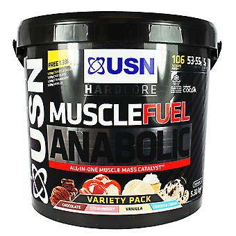USN Muscle Fuel Anabolic 5.33kg Variety Pack