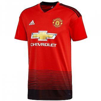 2018-2019 Man Utd Adidas Home Football Shirt