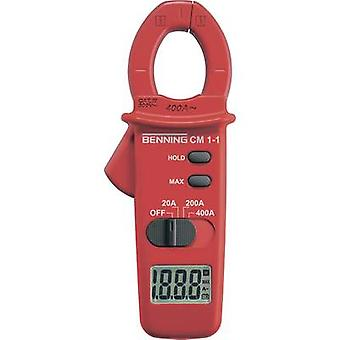 Benning CM 1-1 Clamp meter Digital CAT III 600 V Display (counts): 2000
