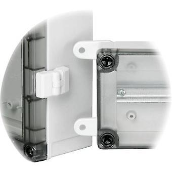 Fibox FP 22046 SET Veggfeste Polyamidlys grå 4 stk.(s)