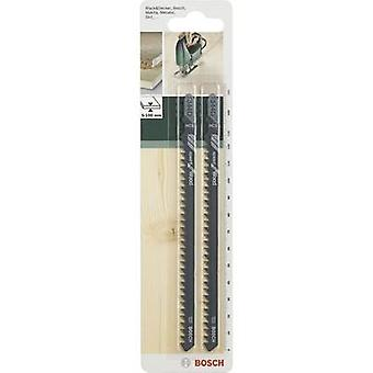 Bosch accessoires Jigsaw blad HCS, T 344 D 152 mm, 2 PC('s) zag Blade