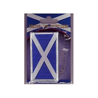 Union Jack Wear Scotland Embroidered Iron On Patch