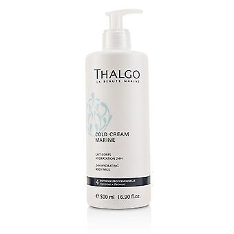 Thalgo Cold Cream Marine 24h Hydrating Body Milk-för torr känslig hud (Salon storlek)-500ml/16.90 oz