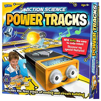 John Adams Action Science Power tracks