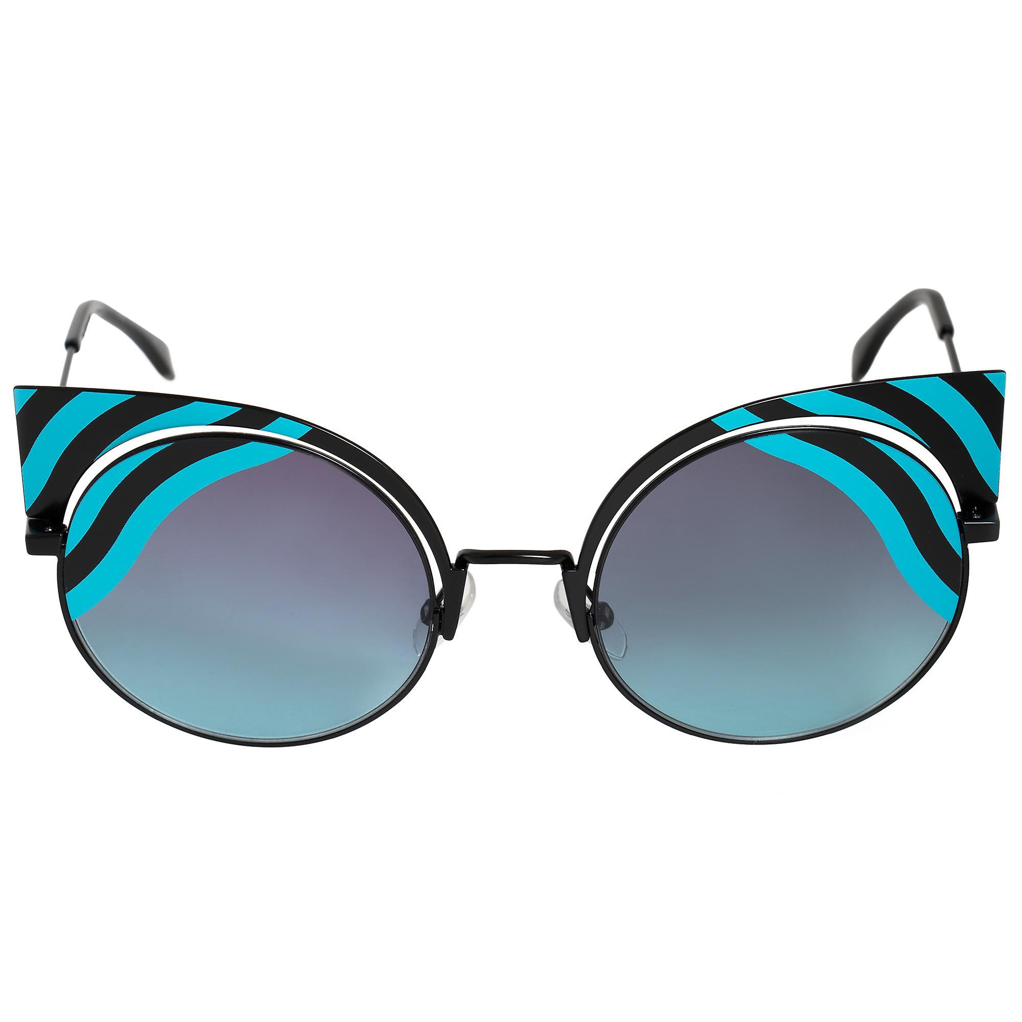 Fendi Hypnoshine Cat Eye Sunglasses FF0215S 0LB JF 53