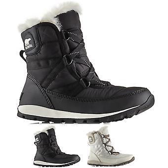 Womens Sorel Whitney Lace korte Winter waterdicht thermische warme sneeuw laarzen