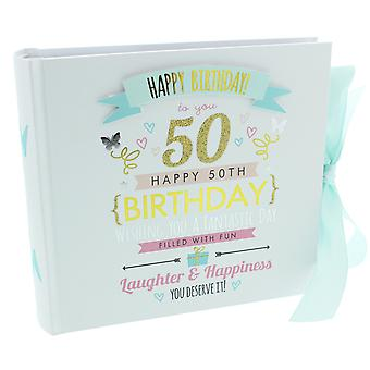 Signography Ladies 50th Birthday Photo Album
