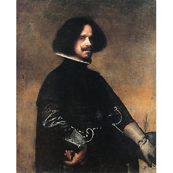 Autoportret,Diego Velazquez,50x40cm