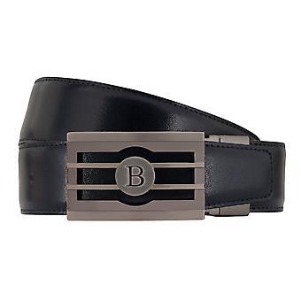 MIGUEL BELLIDO clasico belt belt men's belts leather belt blue/Brown 7722