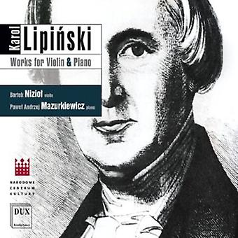 Karol Lipinski - Karol Lipinski: Works for Violin & Piano [CD] USA import