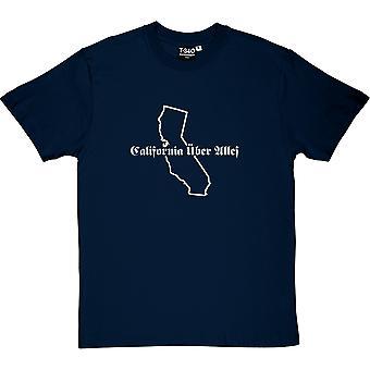 California Uber Alles Herren T-Shirt