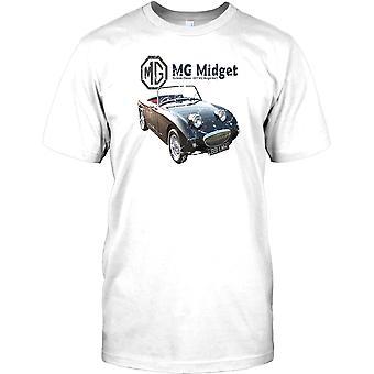 MG Midget Mk 2 - banqueta Classic - Briitsh leyenda niños T Shirt