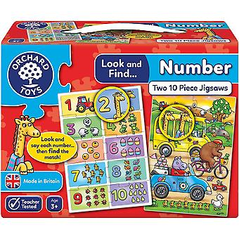 Orchard Toys Look And Find... Number