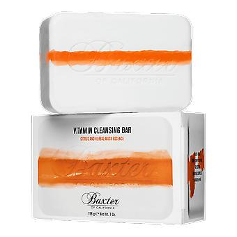 Baxter California vitamin Cleansing Bar Citrus och ört-mysk 198g