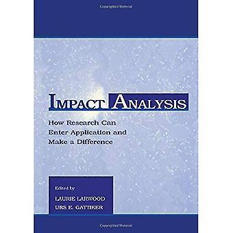 De analyse van de impact: Hoe onderzoek kan invoeren toepassing en een verschil maken