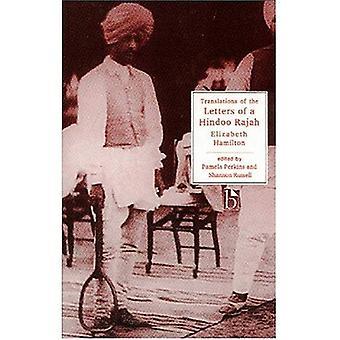 Lettres d'un Rajah hindoues