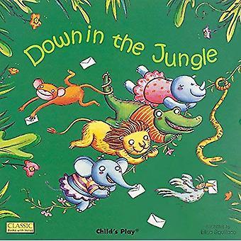 Ner i djungeln (klassiska böcker med hål)