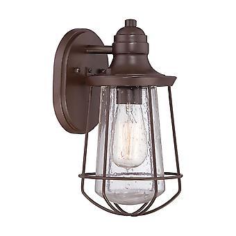 Marine en lys q/MARINE/liten vegg lanterne - Elstead belysning q / Marine / q/MARINE/S