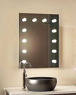 Diamond X Wallmount Hollywood Audio miroir, Dimmable LED k90CWaudbath