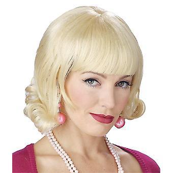 Blonde perruque Flip pour femmes