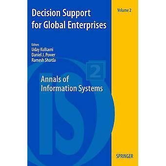 Decision Support for Global Enterprises by Kulkarni & Uday