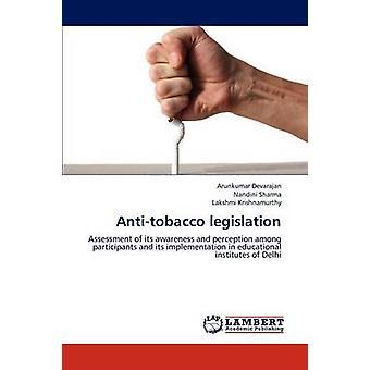 Antitobacco legislação por Devarajan & Arunkumar