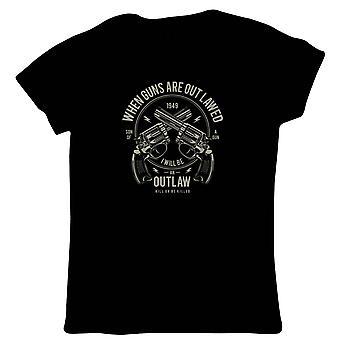 Outlaw Womens T-Shirt - Pop-Kultur-Geschenk Ihr