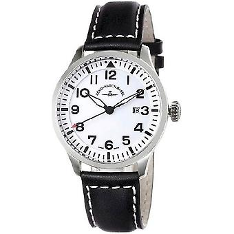 Zeno-watch mens watch Navigator NG quartz, white 6569-515Q-i2