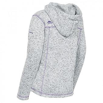 Trespass Childrens Girls Lovell Hooded Fleece Jacket