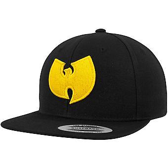 Wu-wear Snapback Cap - LOGO black