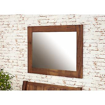 Mayan Walnut Medium Mirror Brown - Baumhaus