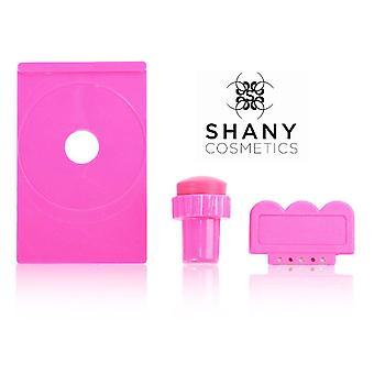 SHANY Stamping Nail Art Bild Platte Halter/Scraper/Stamper - alles in einem Satz