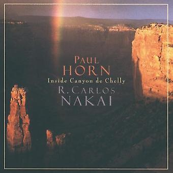 Nakai/Horn - Inside Canyon De Chelly [CD] USA import