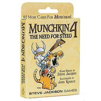 Munchkin Expansion 4 Need for Steed Card Game