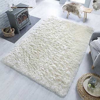 Orso Ivory rechthoek tapijten Plain/bijna effen tapijten