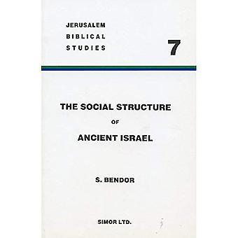 De sociale structuur van Israël: de instelling van de familie (Beit'Ab) uit de nederzetting aan het einde van de monarchie (Jeruzalem Bijbelse Studies)