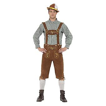 Mens Hanz bavarese Fancy Dress Costume