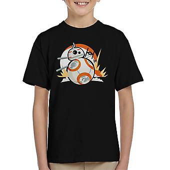 Star Wars BB8 fighter Chase Kid ' s T-shirt