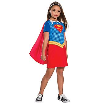 Supergirl DC Comic Super Hero super-herói filme livro semana meninas traje 4-6
