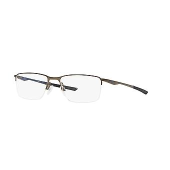 Oakley Socket 5.5 OX3218 06 Satin Pewter-Poisedon Blue Glasses