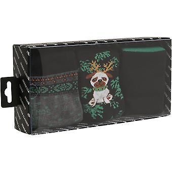 Urban Classics - Christmas Dog Socken 3er Pack